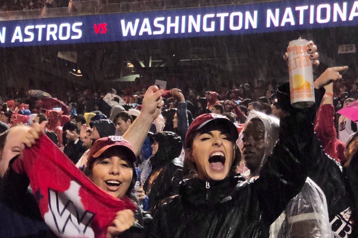 Nationals win world series