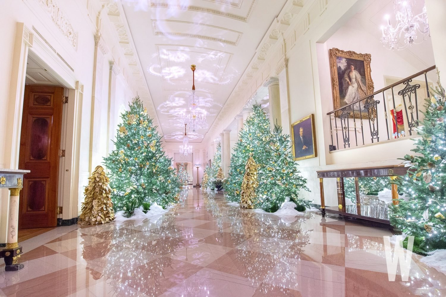 2019 White House Christmas Decorations