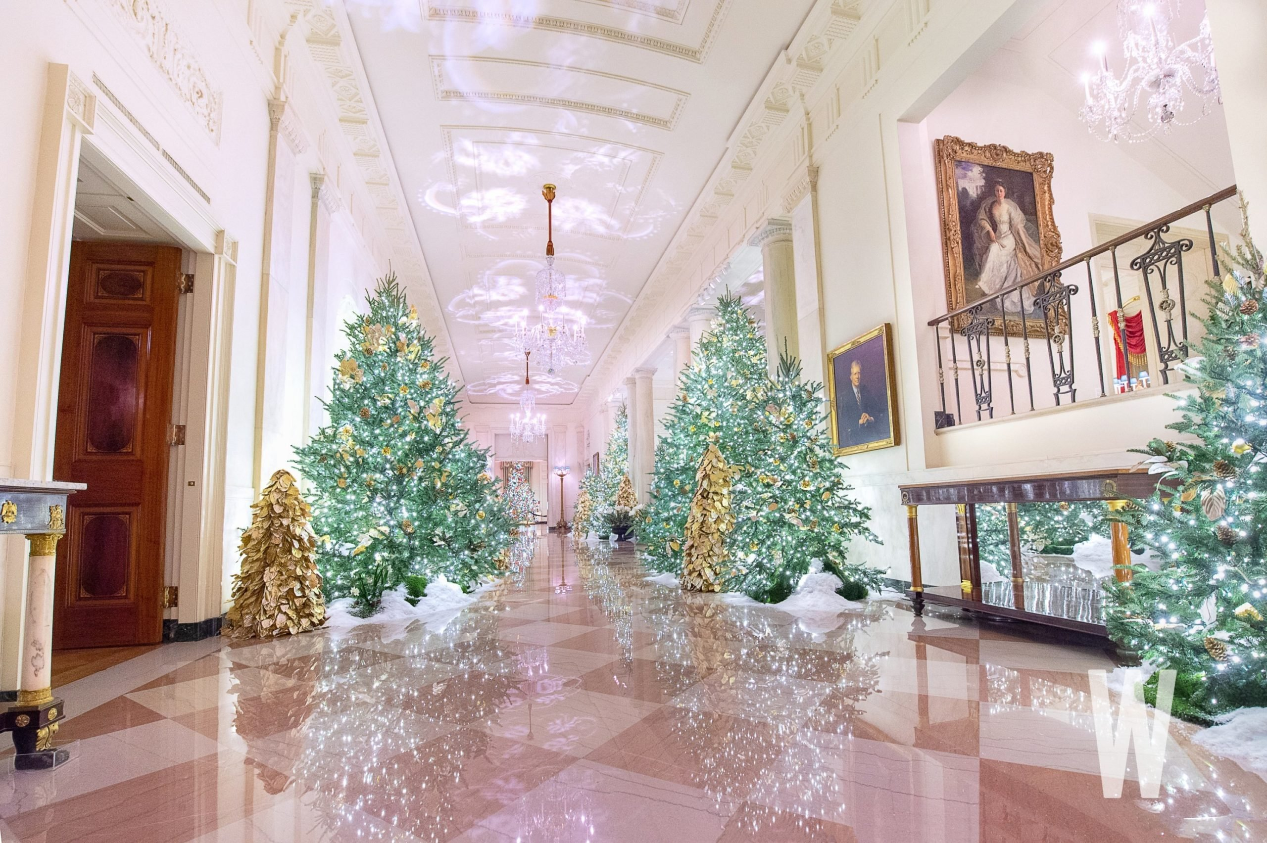 PHOTOS The 2019 White House Christmas Decorations