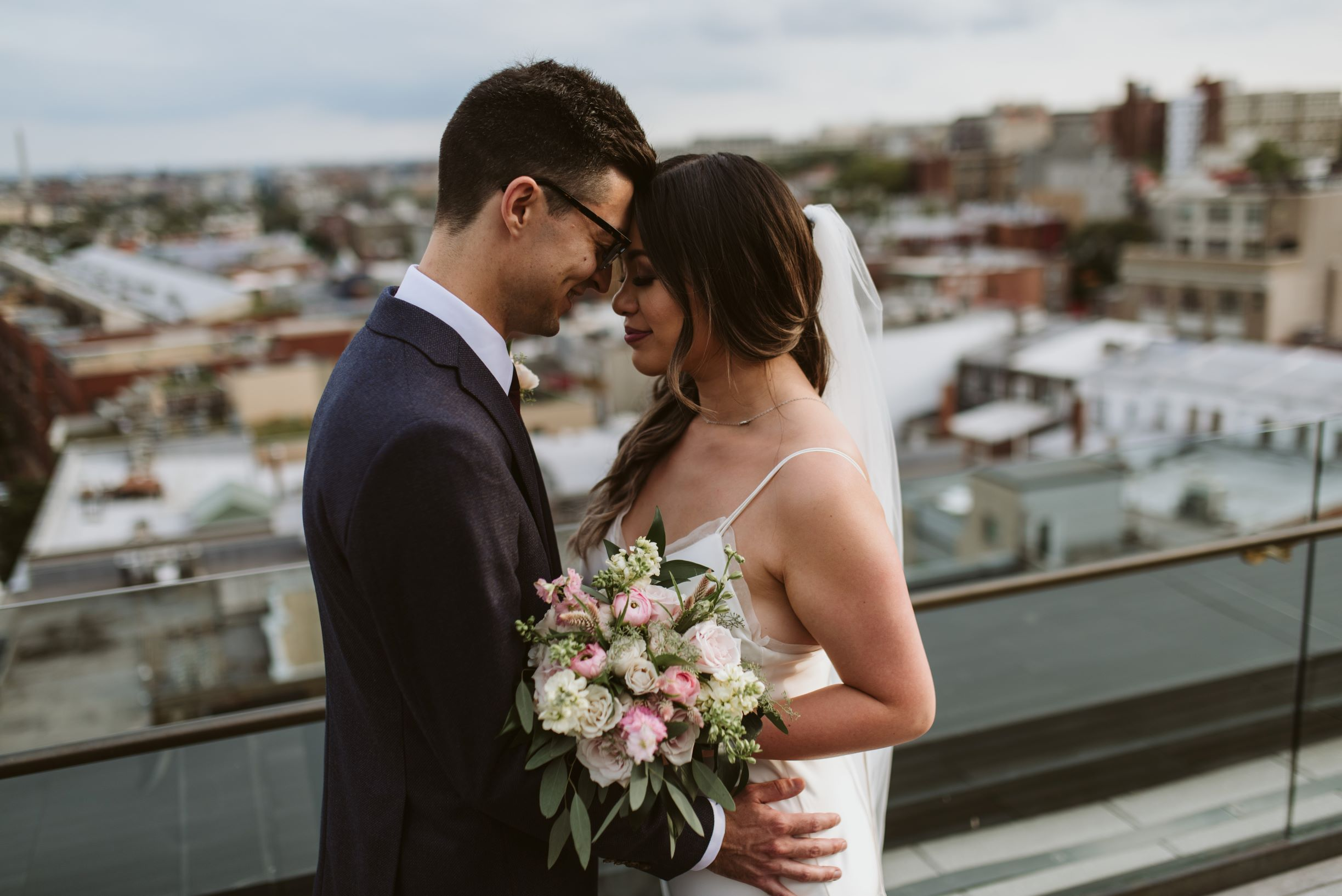 intimate-rooftop-wedding