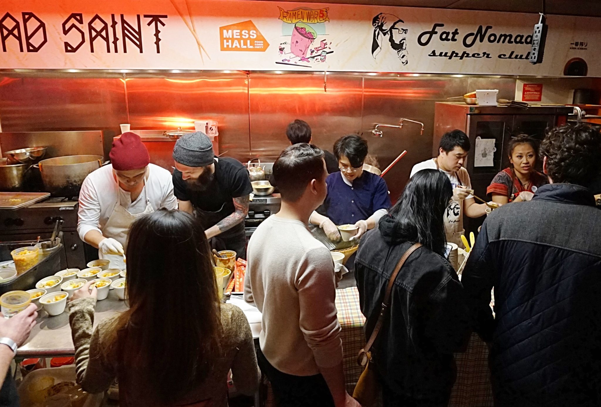 Eat unlimited ramen at Mess Hall's Ramen World. Photo courtesy of Mess Hall.