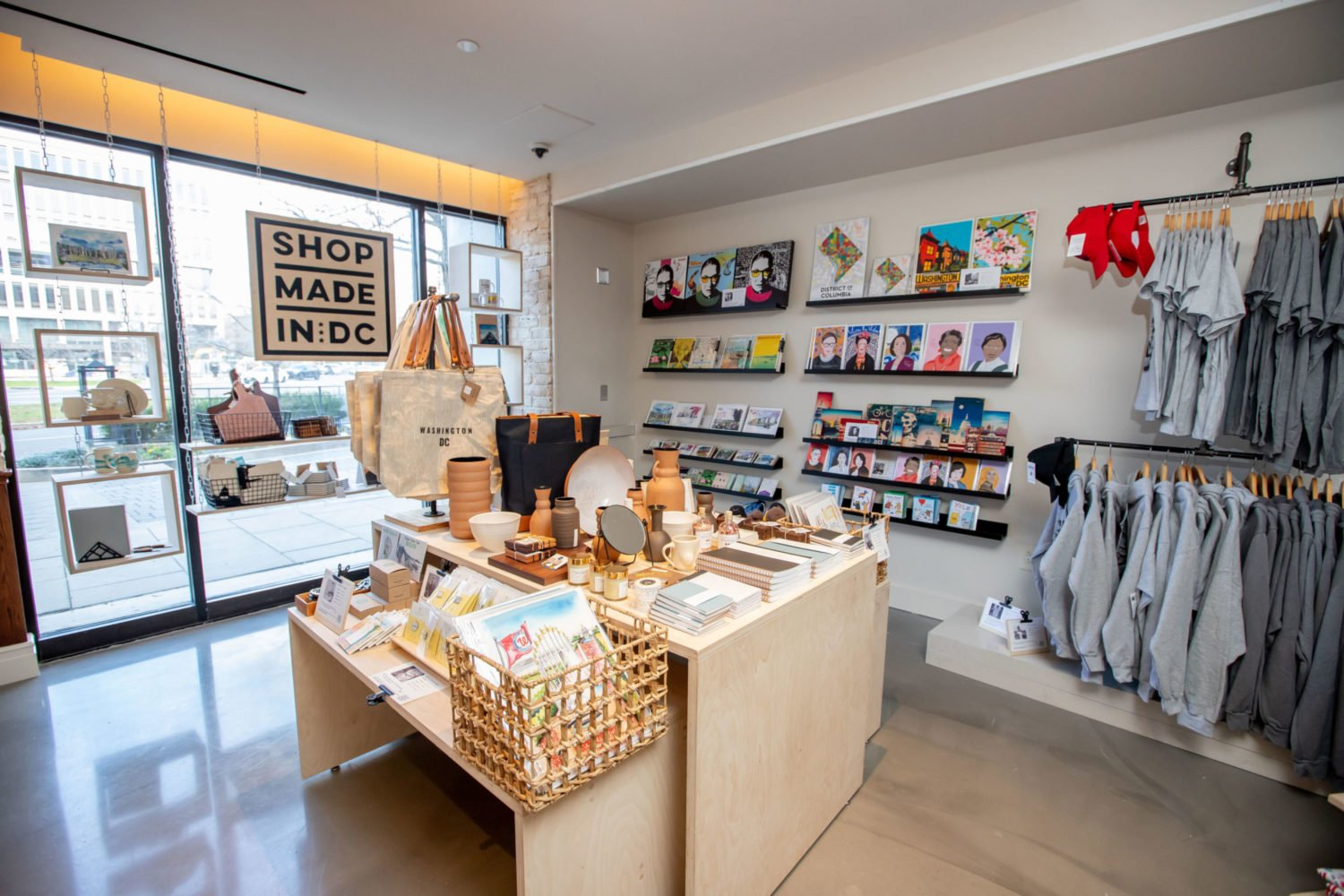 Shop Made In DC is the only retailer opening at the Roost. Photo courtesy of Shop Made In DC.