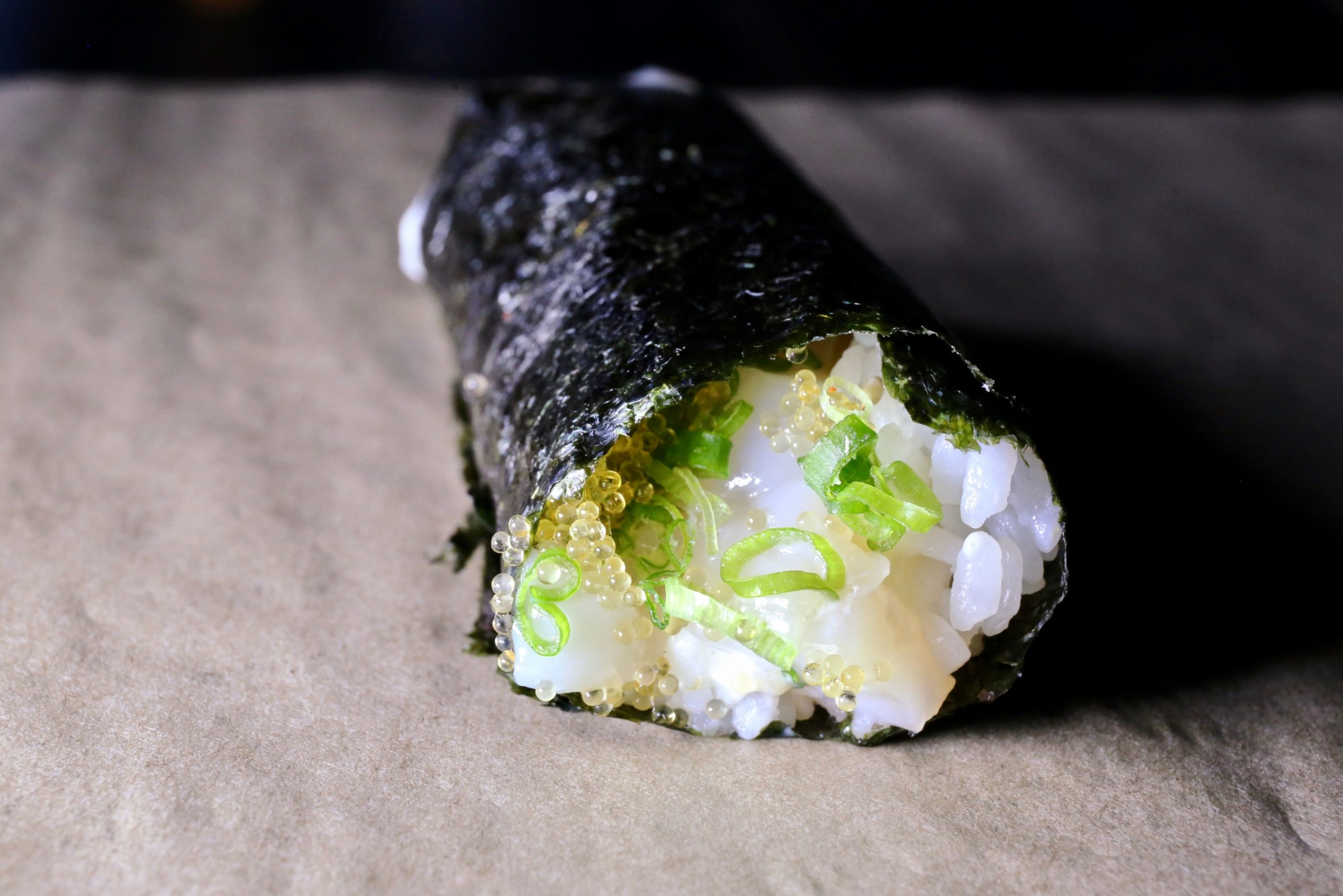 The Handover focuses on temaki. Photo by Evy Mages.