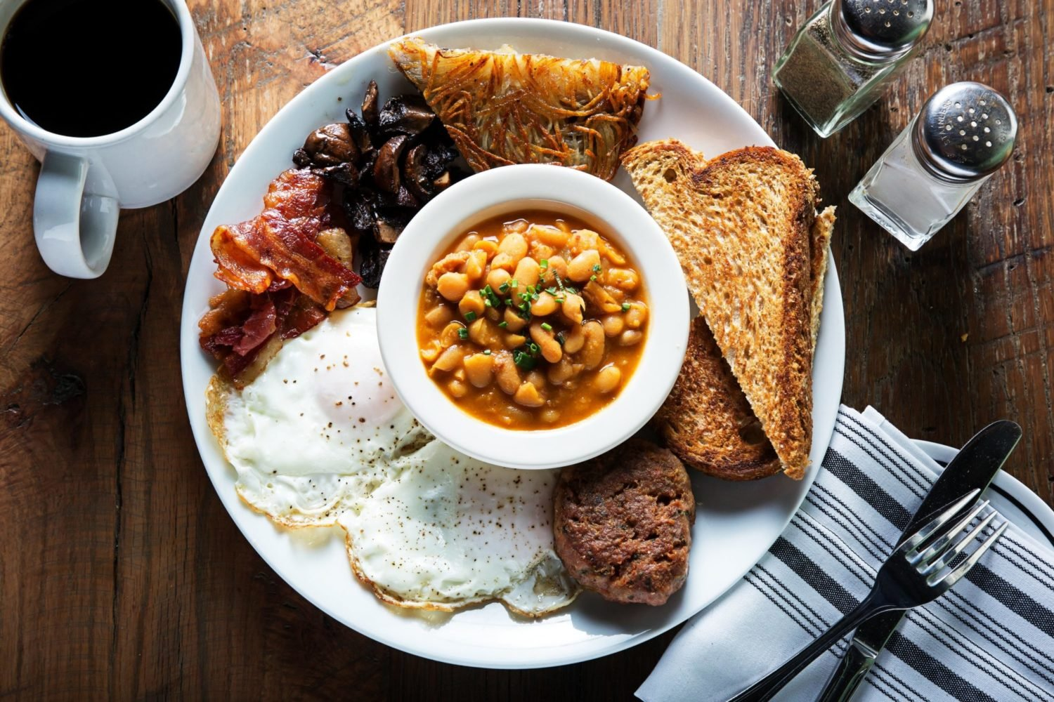 A brunch plate at Boundary Stone. Photo courtesy of Boundary Stone.
