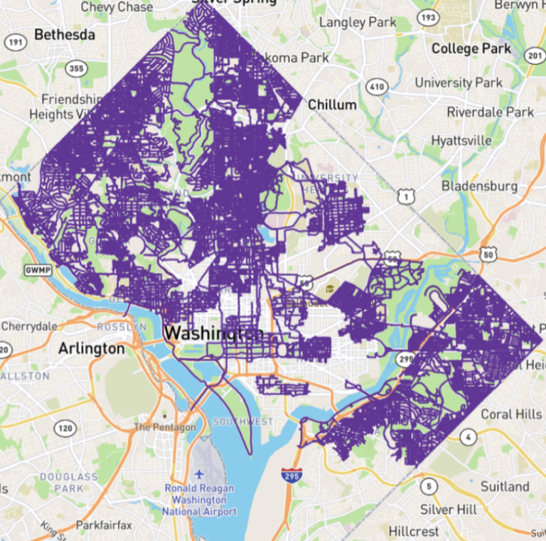 11 Questions For the Guy Attempting to Run Every Street (and Alley) in DC