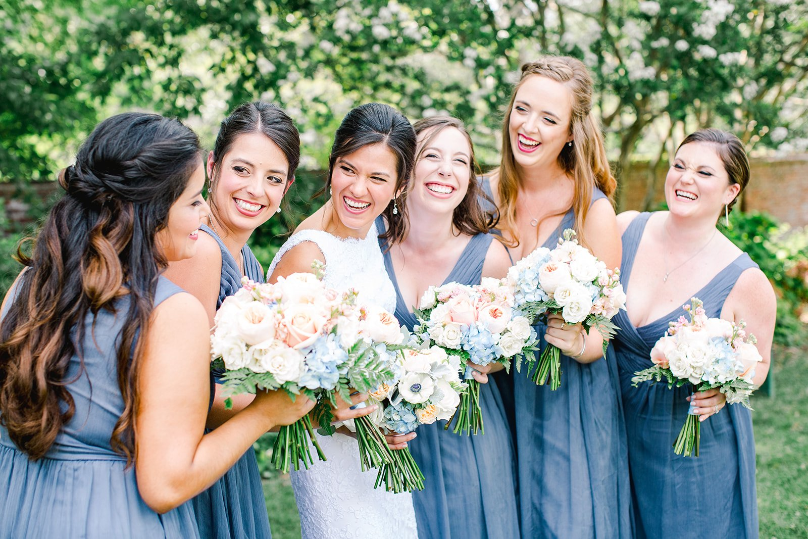 This Blue And White Wedding Featured A Chinoiserie Garden Party Theme