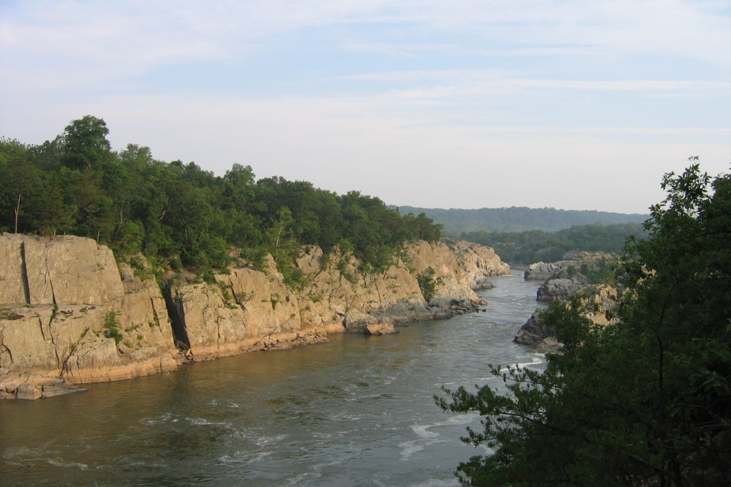 Visit Mather Gorge on the Billy Goat Trail. Photo by Flickr user click-see.