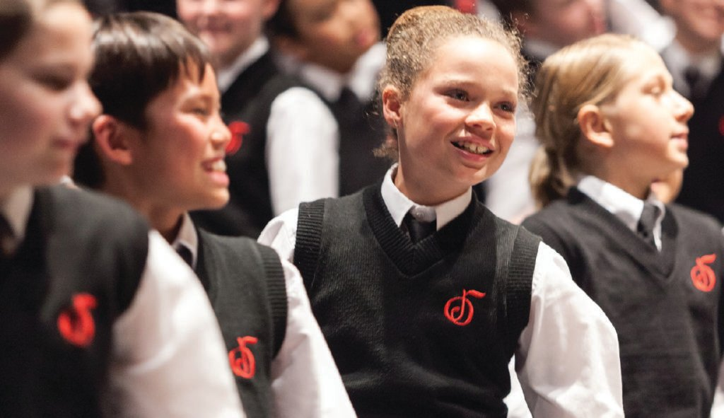 Vocal Auditions for the National Children's Chorus