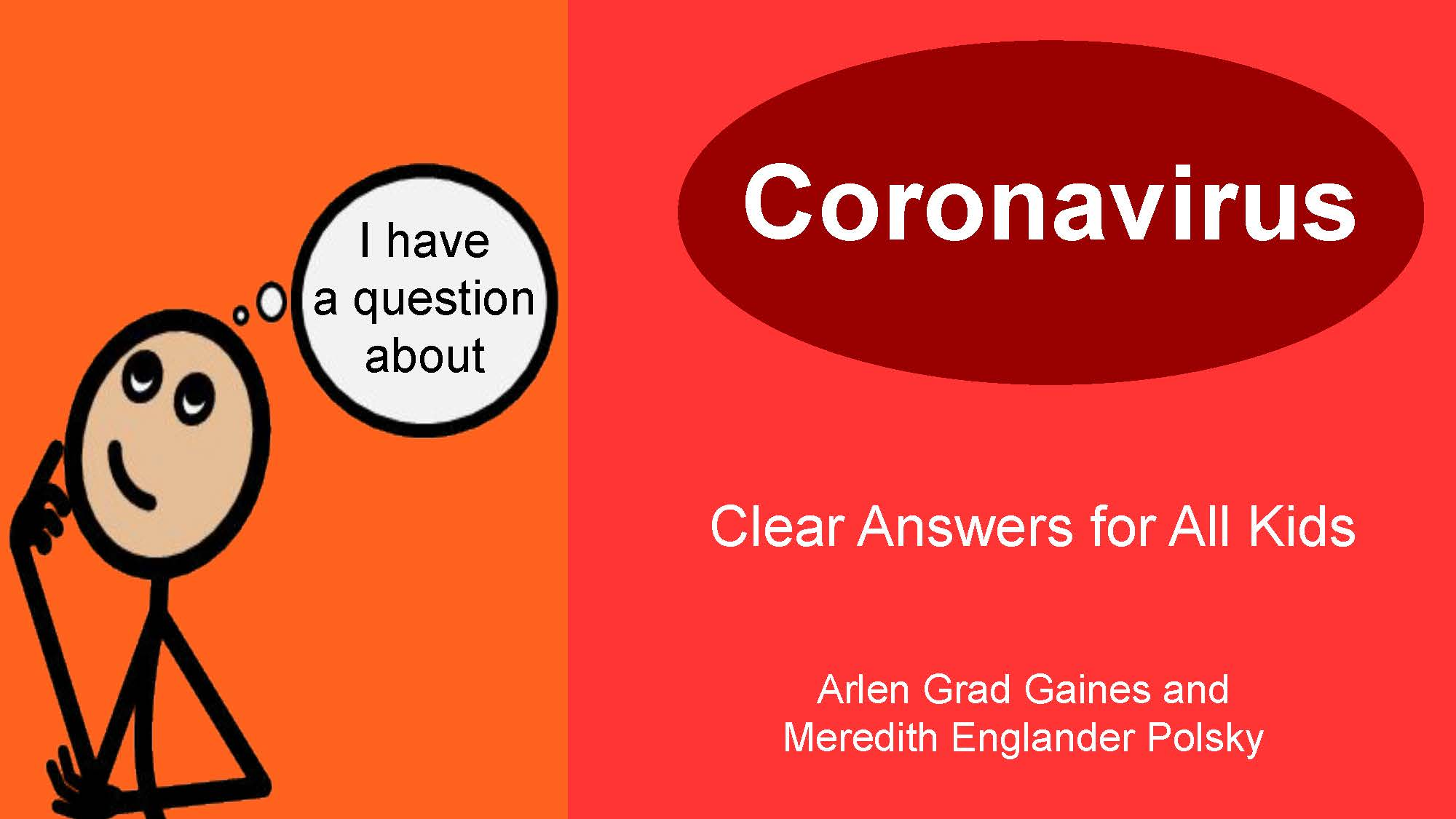The e-book is a tool to start a conversation with kids about coronavirus. Photo courtesy of Meredith Polsky.
