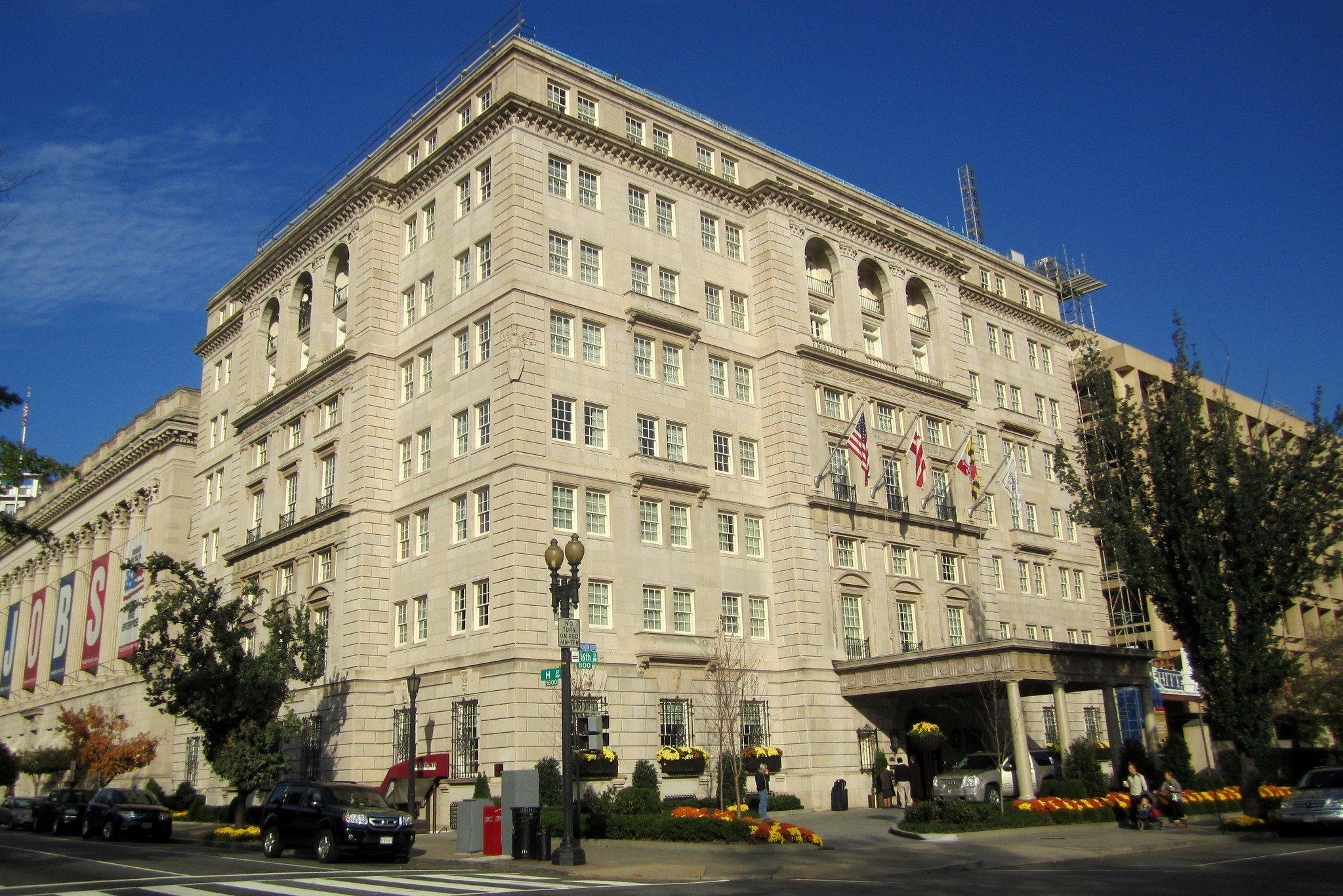 Historic DC Hay-Adams Hotel Is Temporarily Closed Due to Coronavirus