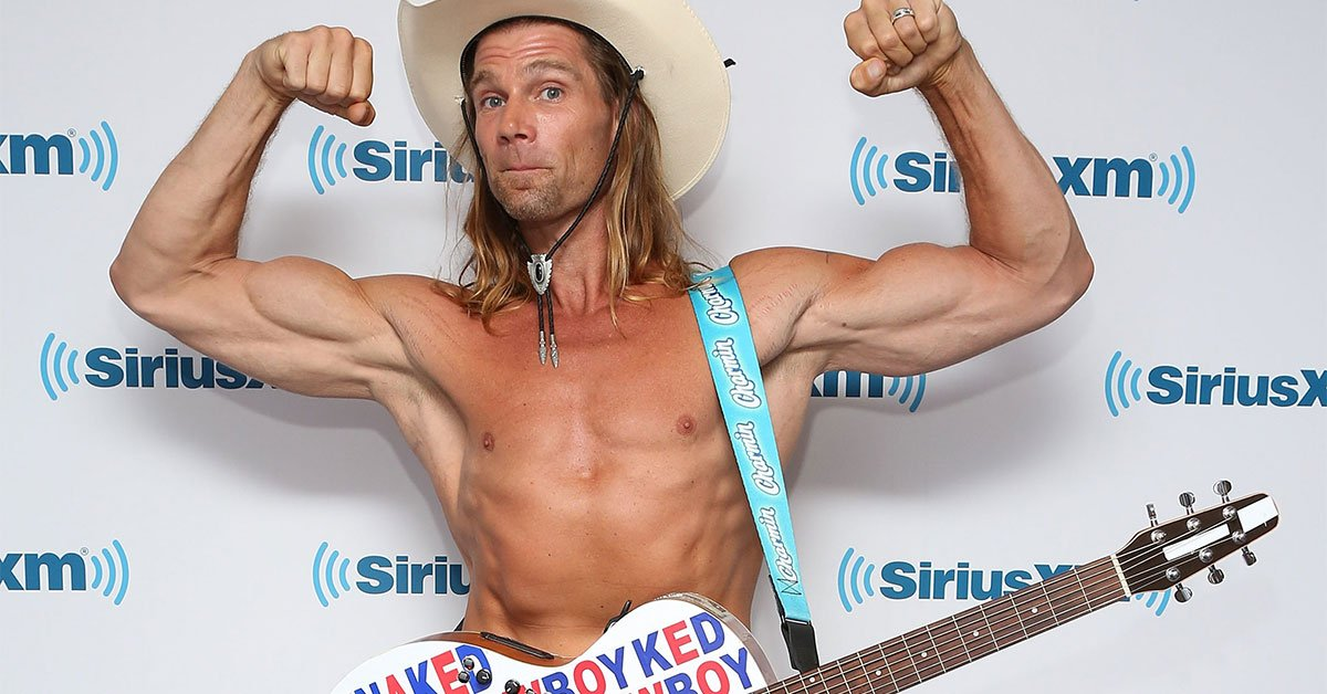 The Naked Cowboy … New York City