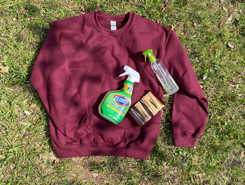 Here S How To Make A No Dye Tie Sweatshirt Washingtonian Dc