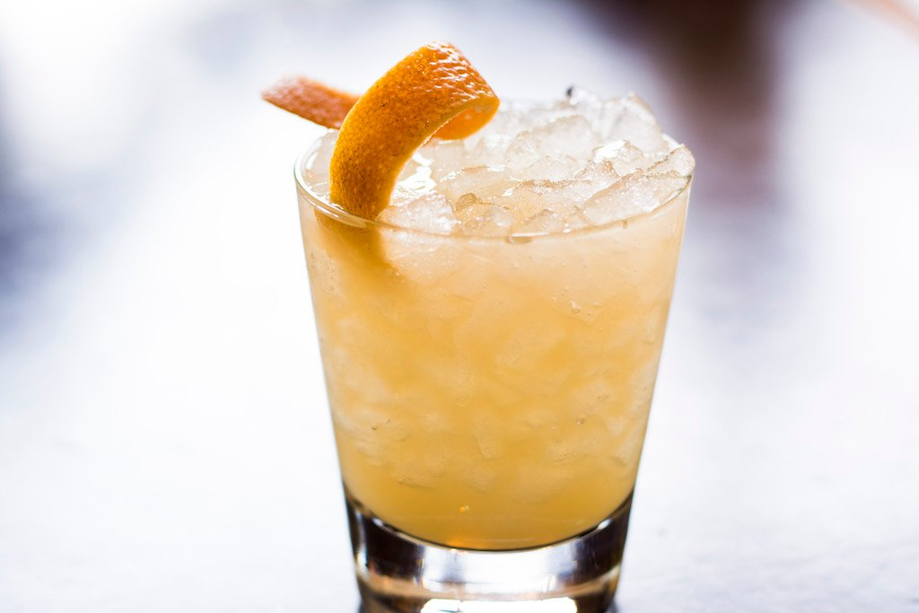 Quarantine Cocktail: A Turmeric-Tinted Orange-Juice-and-Vodka Drink From Bourbon Steak | Washingtonian (DC)