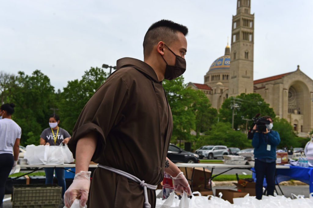 A Local Friar (and Reality TV Star) Is Baking Thousands of Cookies For People in Need