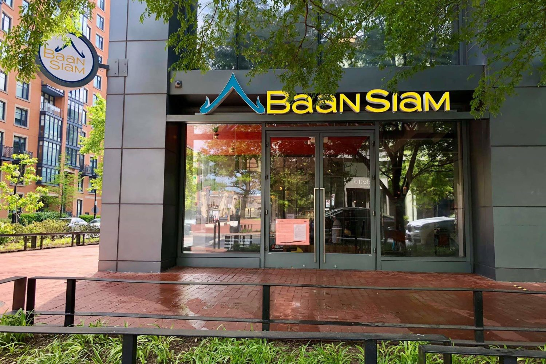 Mount Vernon Triangle restaurant Baan Siam. Photograph courtesy Baan Siam.