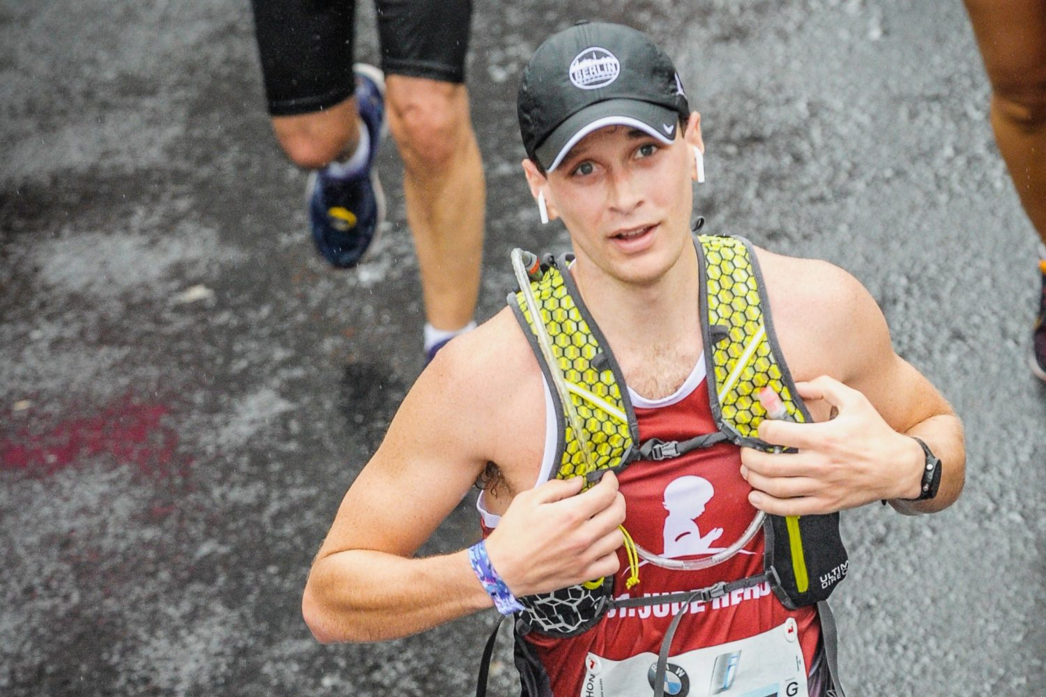 Former St. Jude patient turned marathoner shares message of hope and healing
