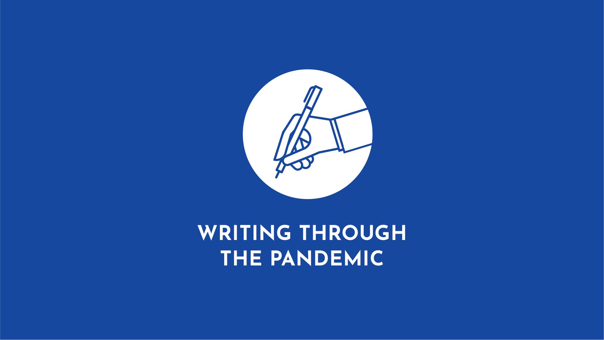 Writing Through the Pandemic: Poet Kyle Dargan on Coronavirus's Painful Truths