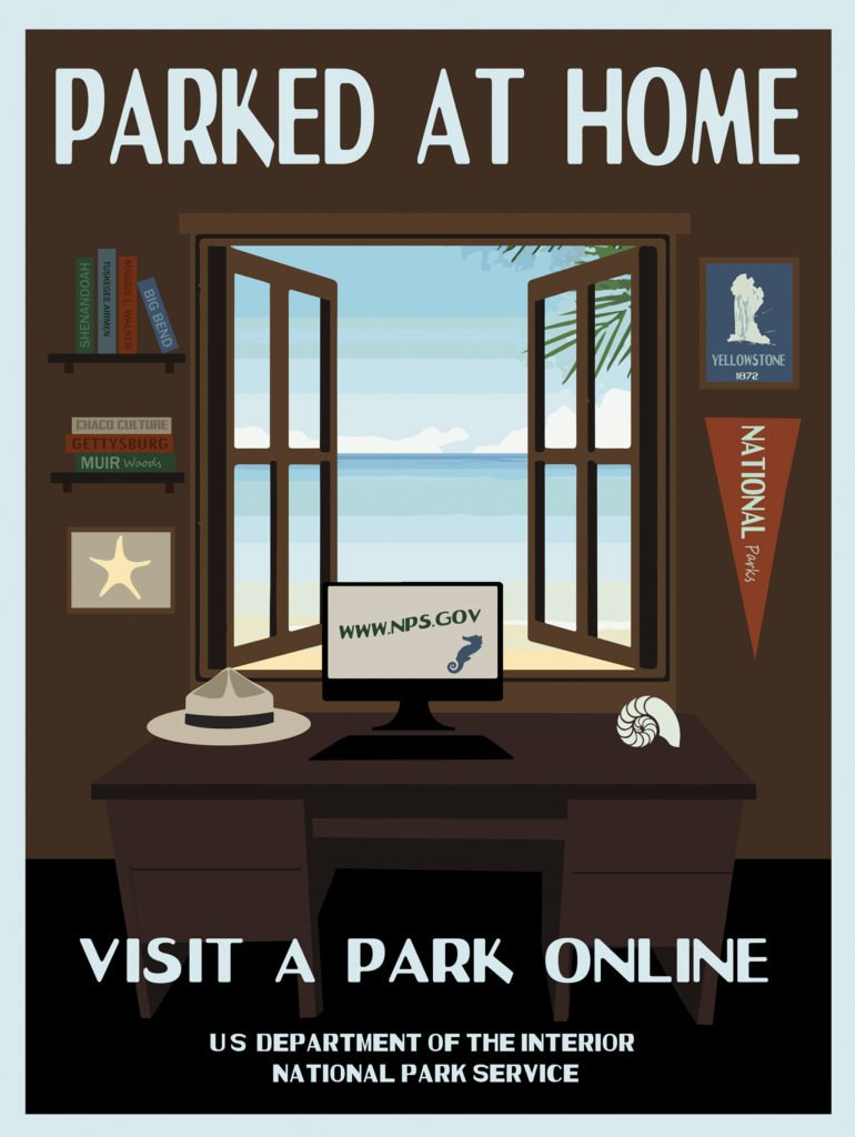 The National Parks' New Social Distancing Posters Are Hilarious (and Perfect)