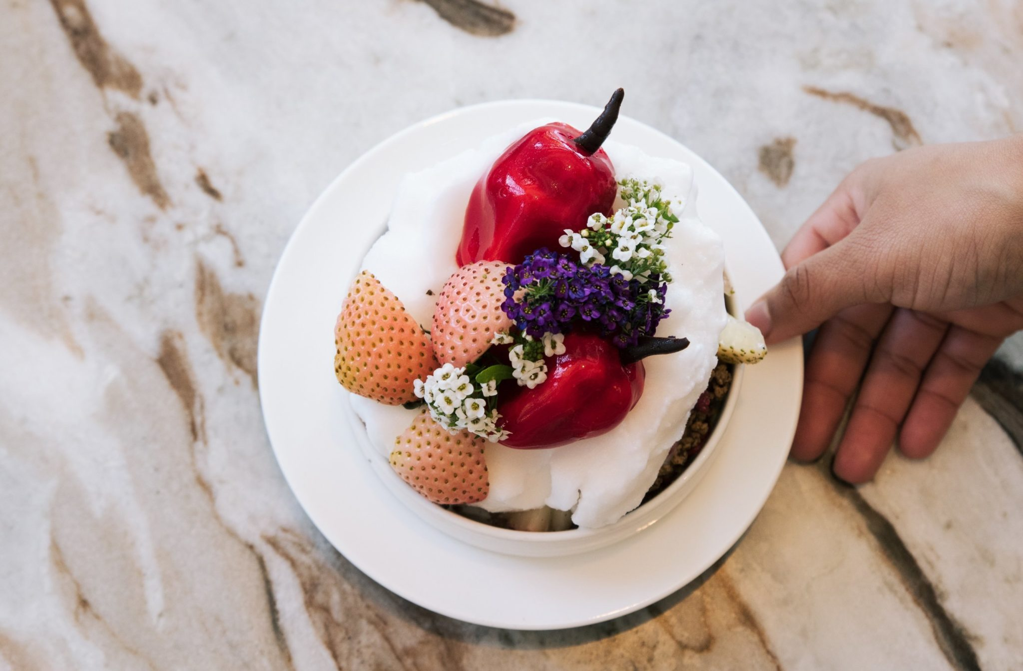 One of pastry chef Paola Velez's creations. Photo courtesy of Paola Velez.