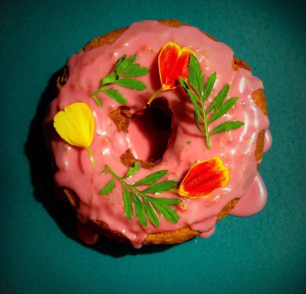 One of Paola Velez's doughnuts from Doña Dona. Photo by Paola Velez.