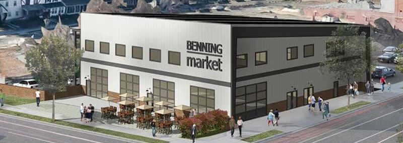 A rendering of Benning Market. Photo courtesy of Market7.