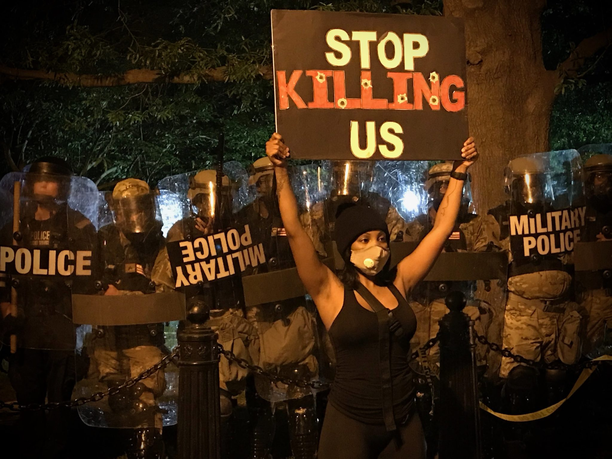 """Stop Killing Us"""": Scenes From the DC Protests 