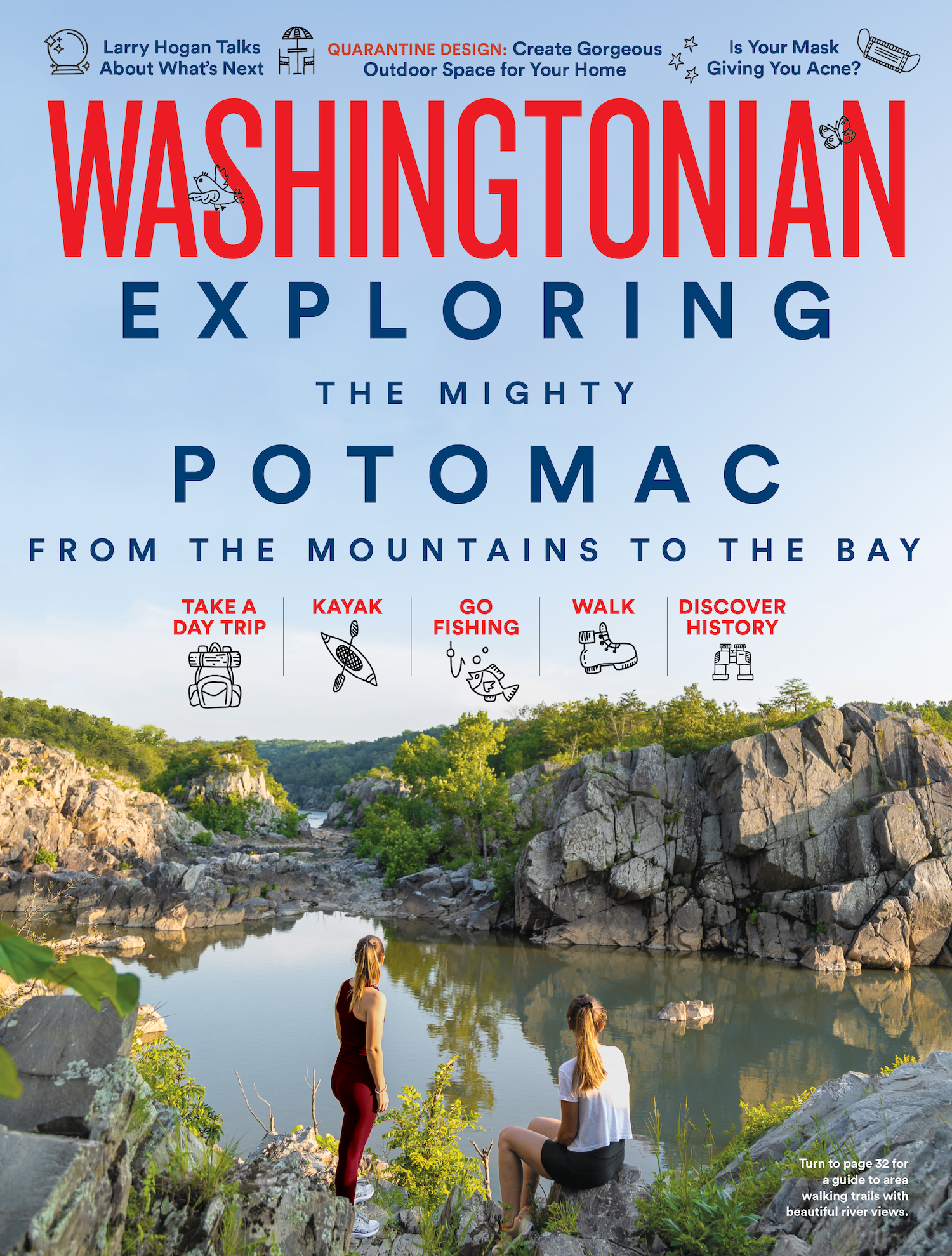 September 2020: Exploring the Potomac