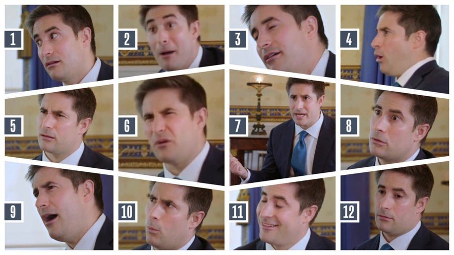 Jonathan Swan's Face Is the 2020 Meme We Needed | Washingtonian