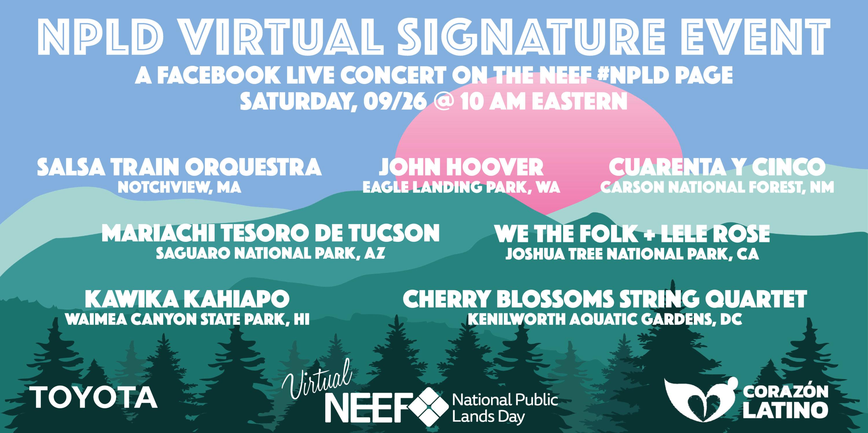 NPLD 2020 Virtual Signature Event