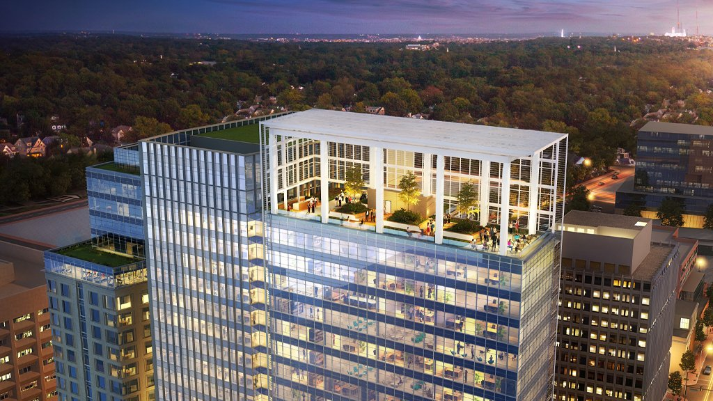 Avocet Tower Is Raising the Bar For in-Office Wellness