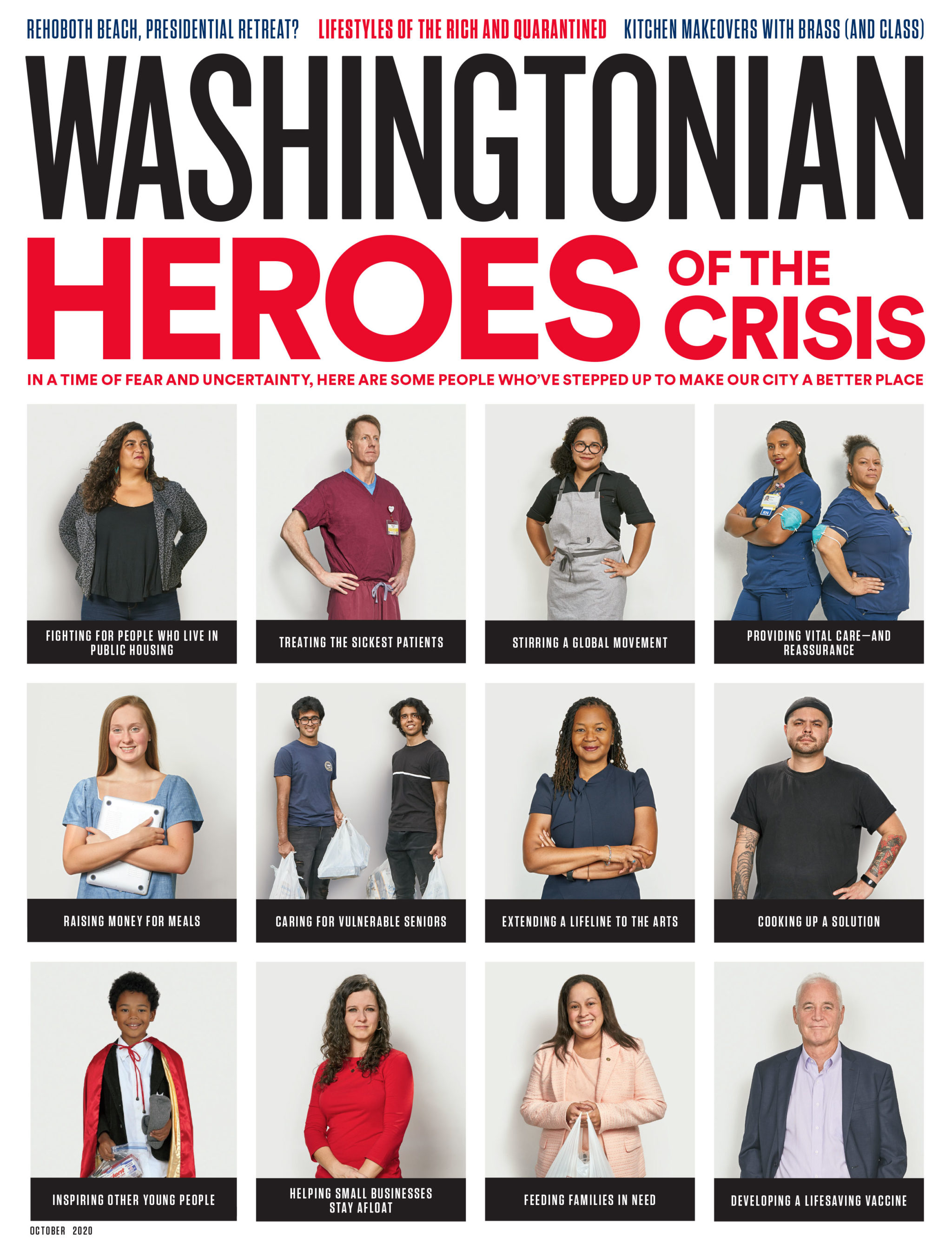 October 2020: Heroes of the Crisis