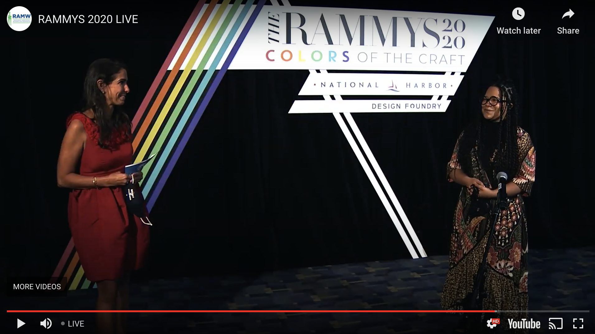 washingtonian.com - Jessica Sidman - Cane and Chiko Win Big at the First Virtual RAMMY Awards