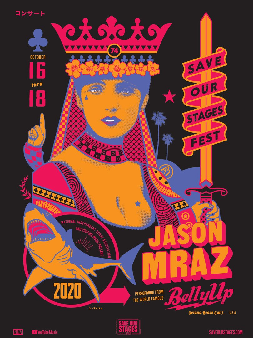 Jason Mraz by Scrojo.