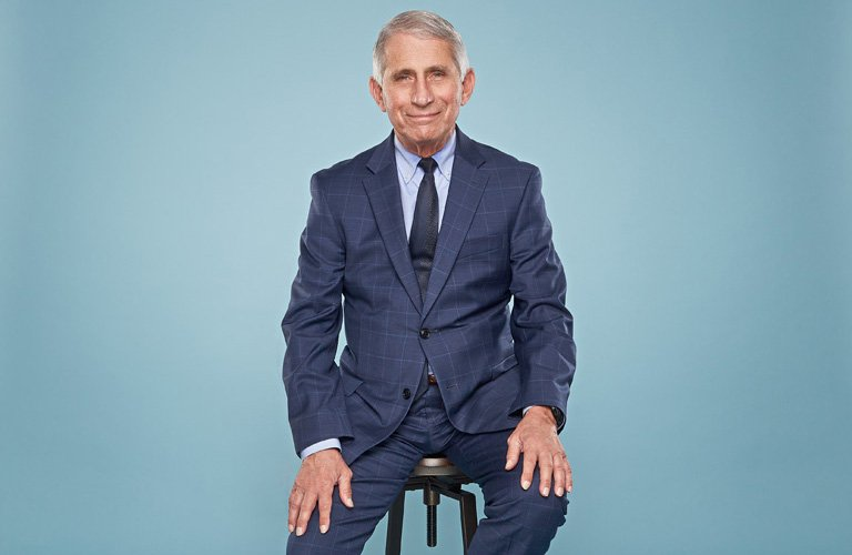 Anthony Fauci Sure Looks Happy in the Biden Administration
