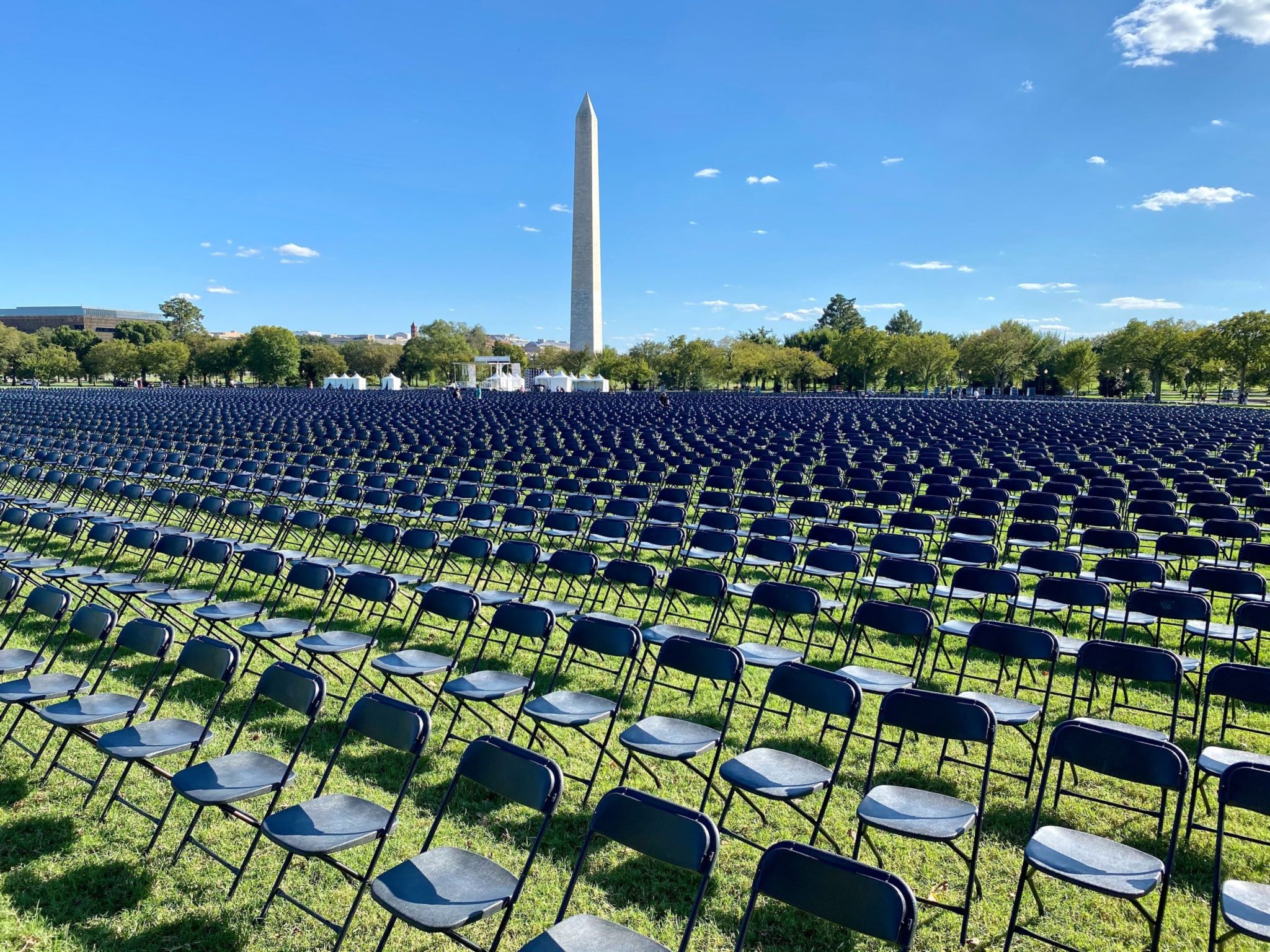 Look at These 20,000 Empty Chairs on the Mall—Then Imagine the 200,000 People We've Lost
