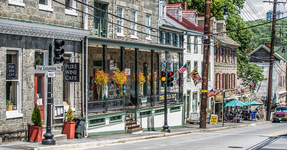 Here's Why You Should Spend a Fall Weekend in Historic Ellicott City