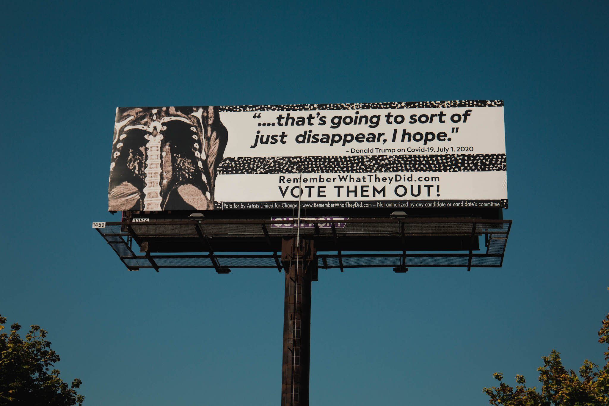 Robin Bell's New Project: Anti-Trump Billboards, All Over the US
