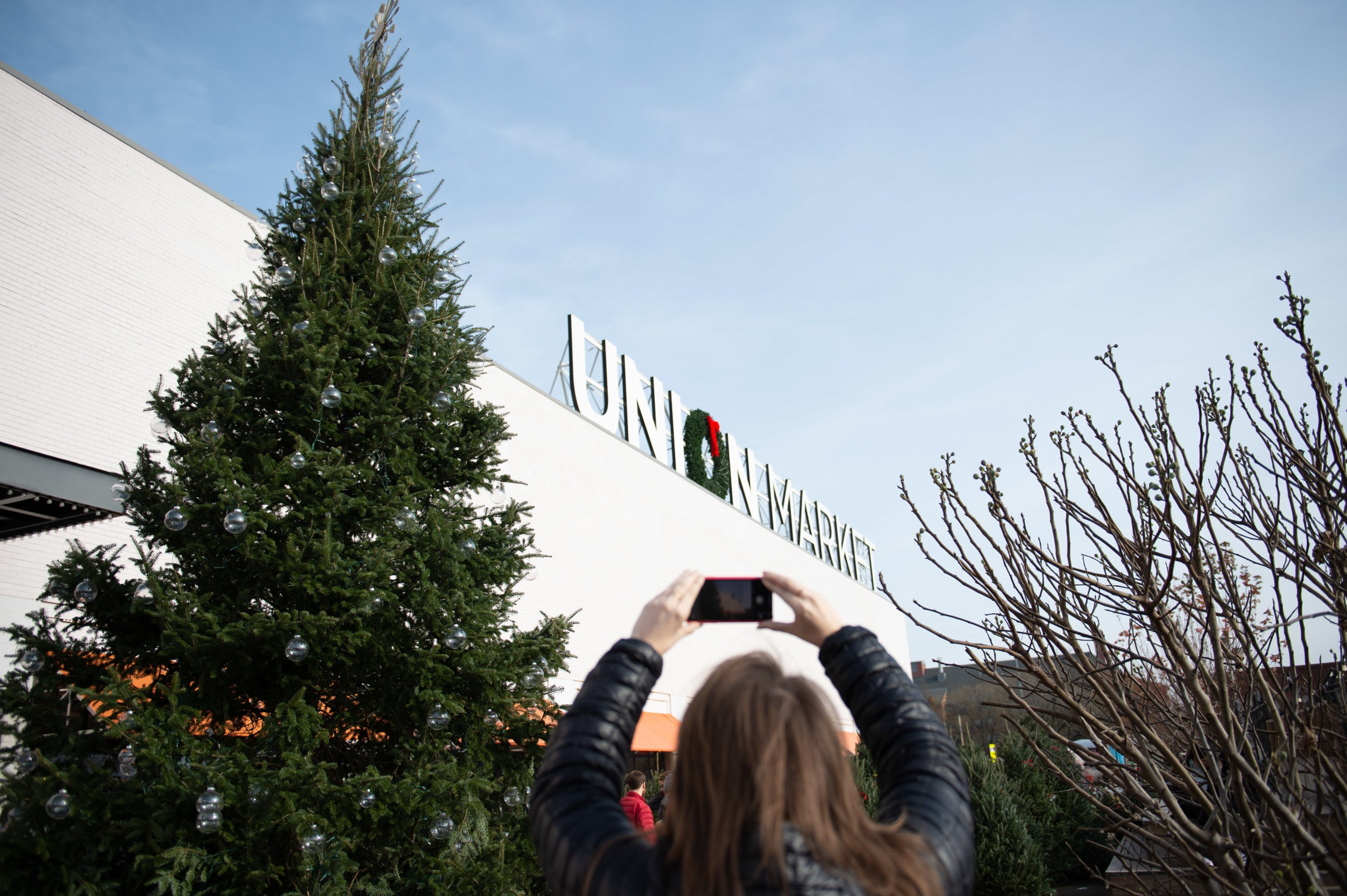 Union Market is hosting a holiday pop-up series. Photo courtesy of Edens.