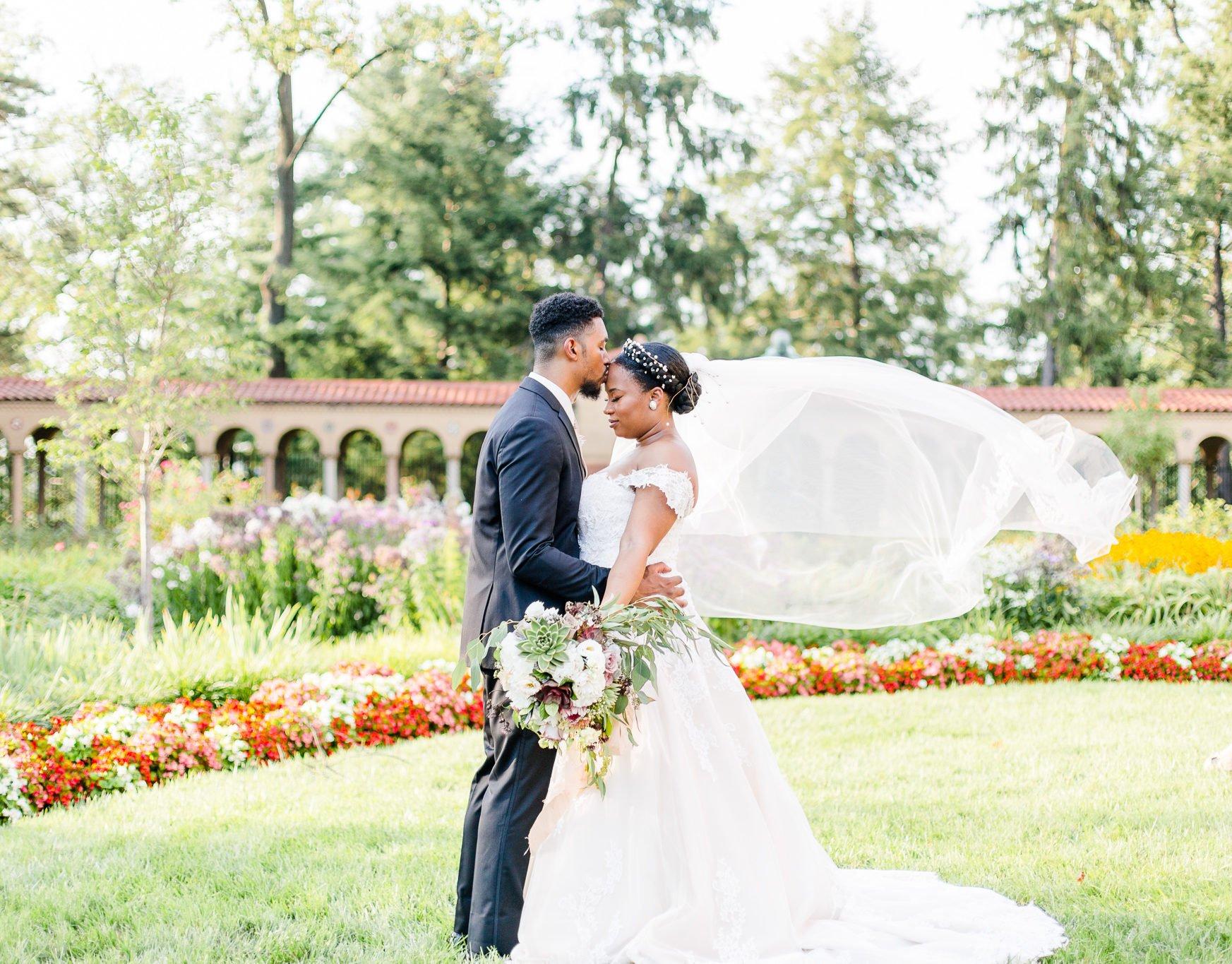 This Secret Garden Themed Wedding Featured Traditional Nigerian Elements Washingtonian Dc