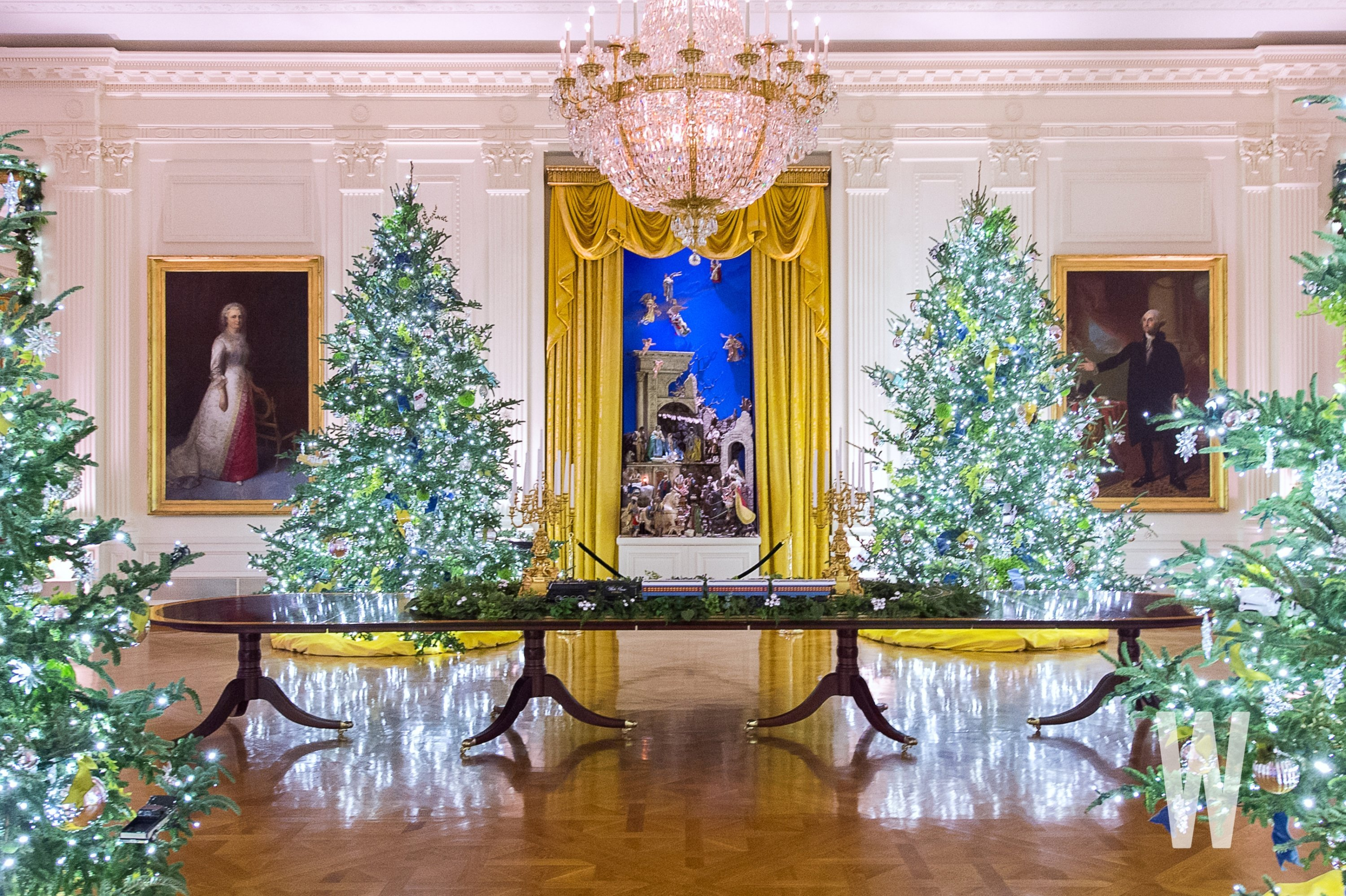 Whitehouse Christmas Trees 2021 Photos White House Holiday Party Attendees Show Off Mostly Maskless Selfies