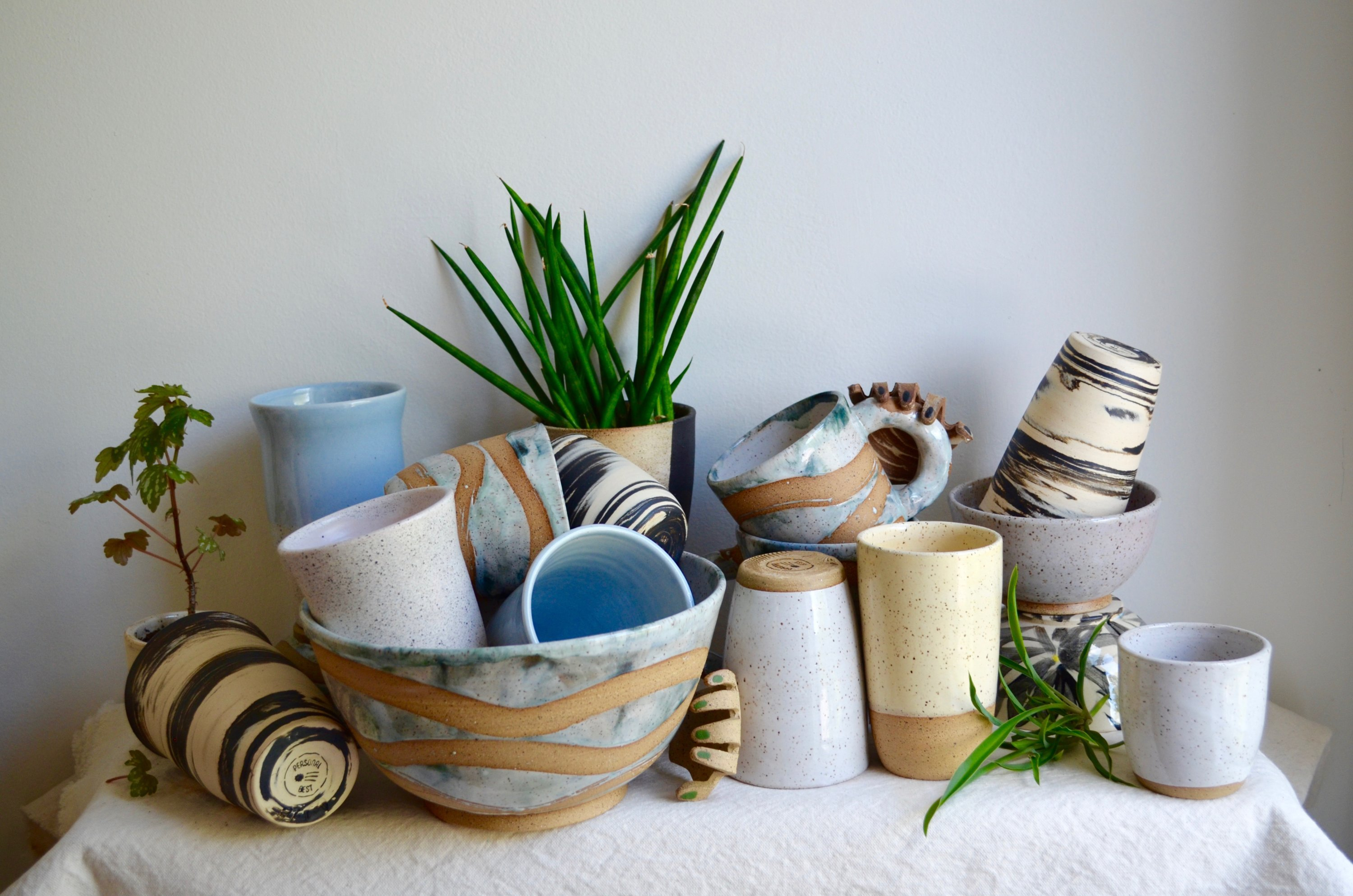 Shop for wares like Personal Best Ceramics at the Park View Holiday Market. Photo courtesy of Park View Holiday Market.