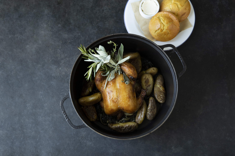 Rotisserie chicken. Photo by Jennifer Chase.
