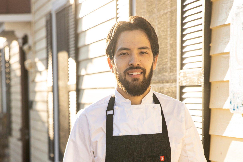 Trummer's chef Daniel Perron. Photo by Jennifer Chase.