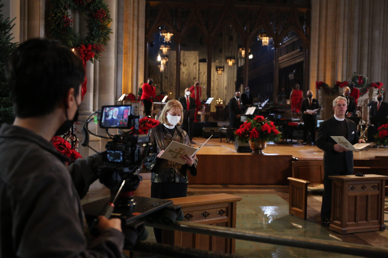 Christmas, COVID-19, Coronavirus, National Cathedral