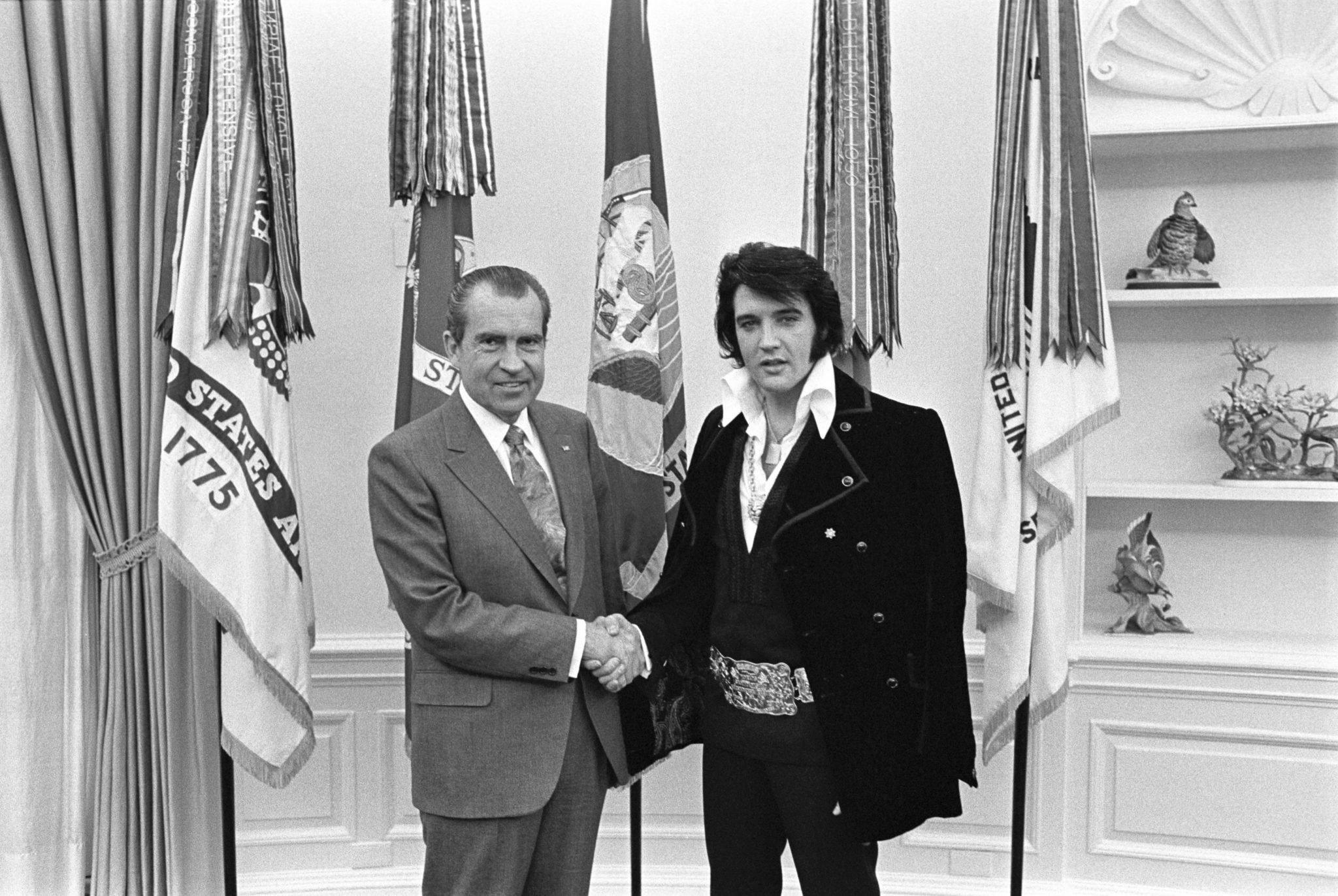 Elvis Met Nixon 50 Years Ago Today in One of the Weirdest White House Meetings in History