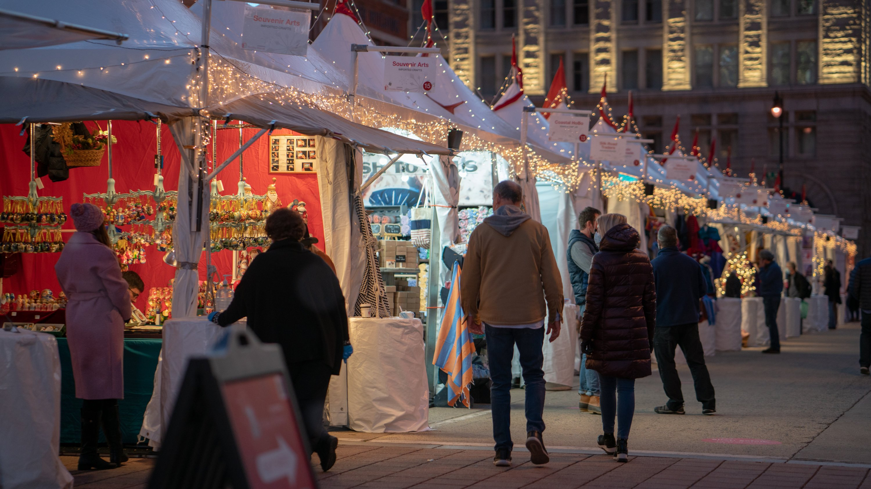 The Downtown Holiday Market is expanding to two blocks this year. Photo by InsterStellarStudios.
