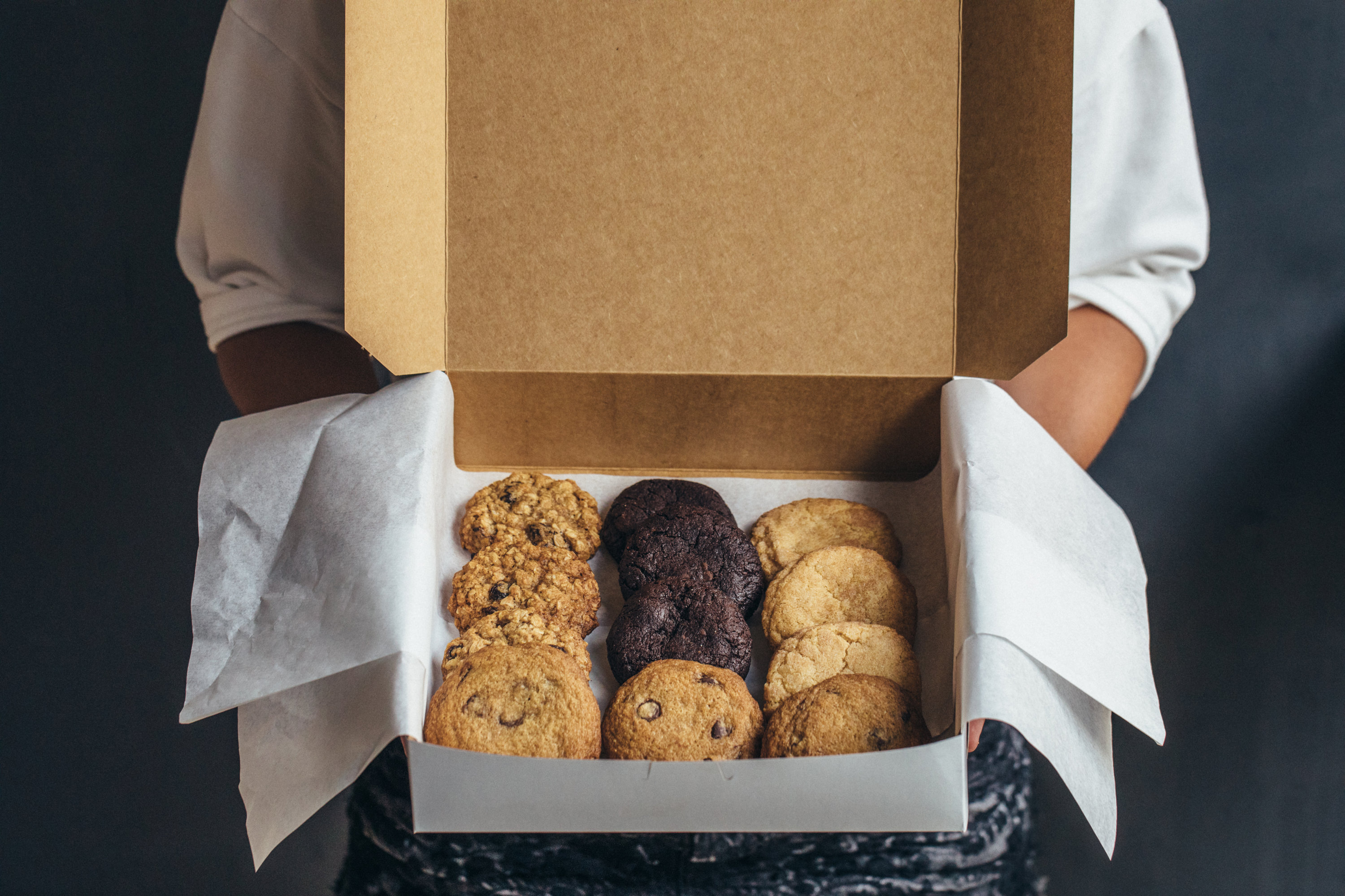 Assorted cookies from Baked and Wired. Photo by Sarah Culver.