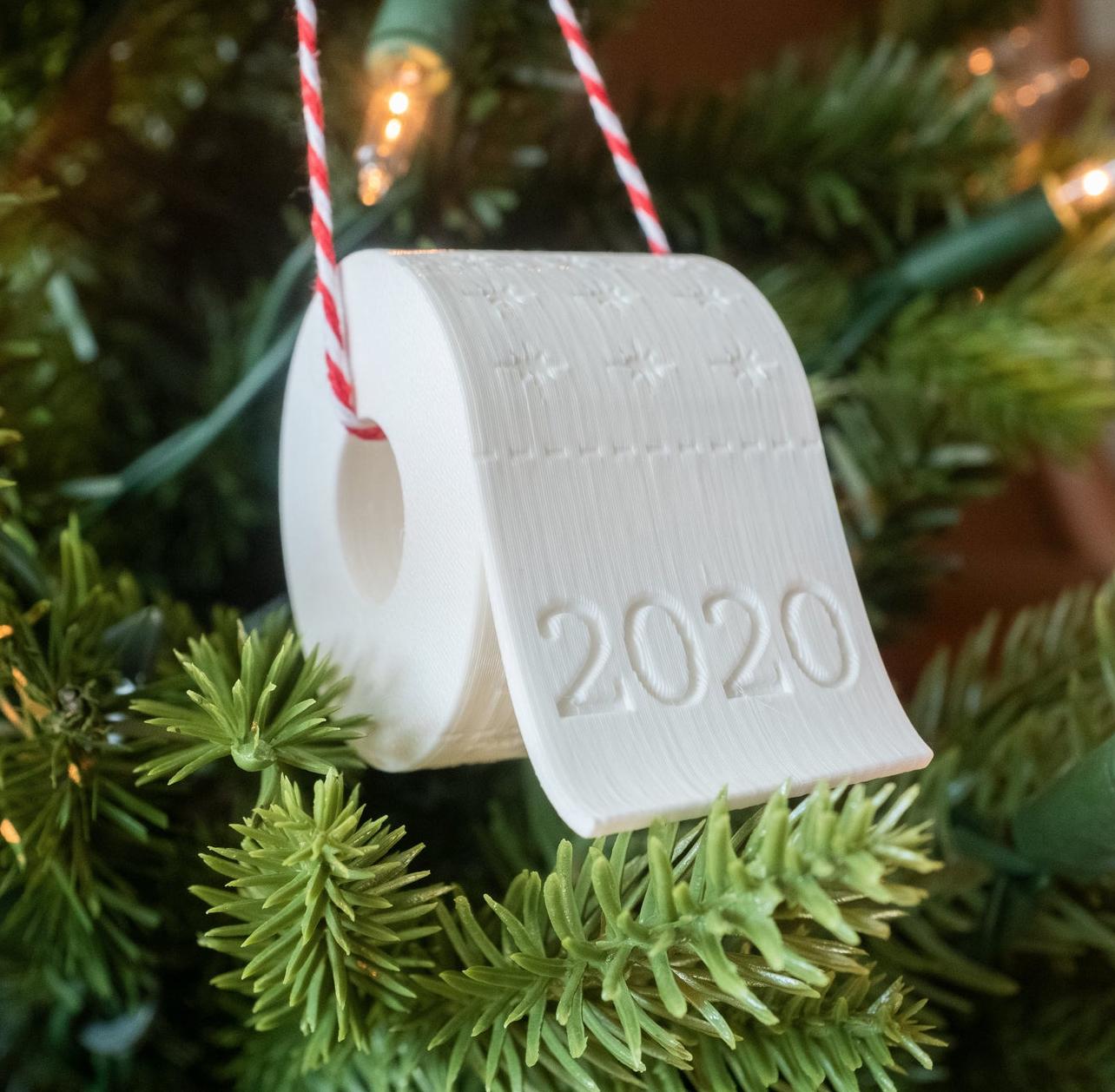 Pandemic Ornament 2020 Christmas Ornament souvenir COVID Christmas