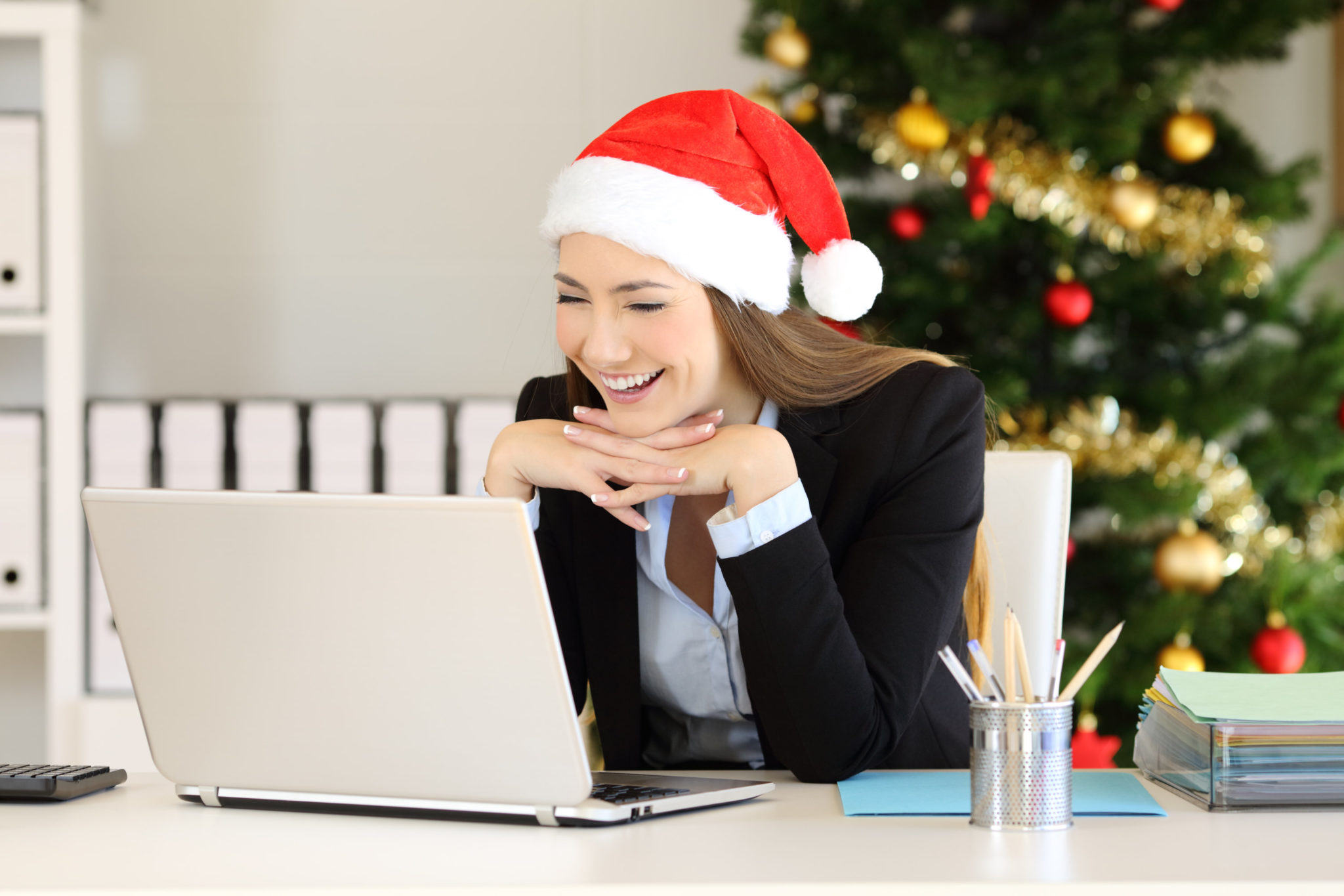 virtual holiday party