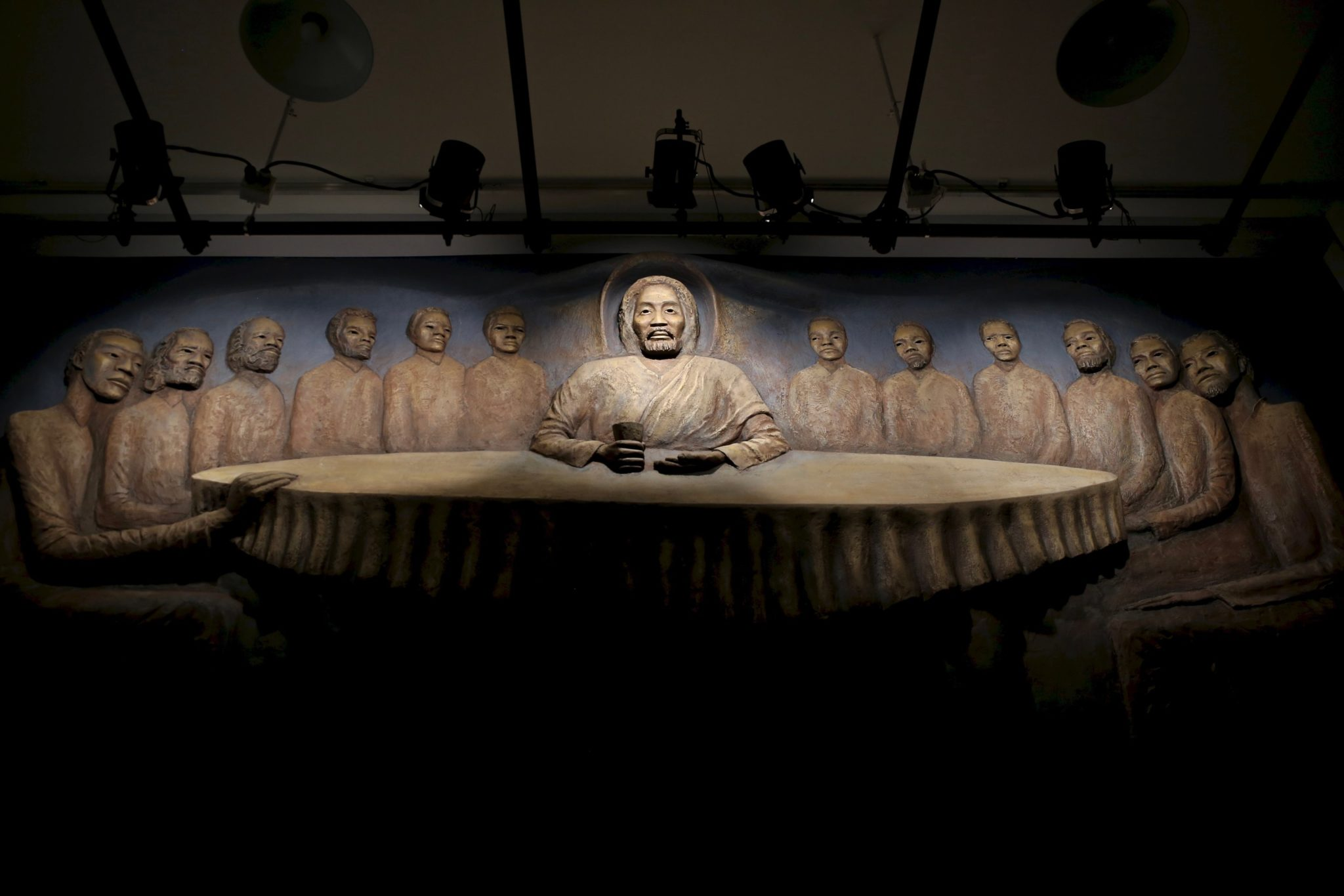 The African American History Museum Has Restored DC's Rediscovered Last Supper Frieze